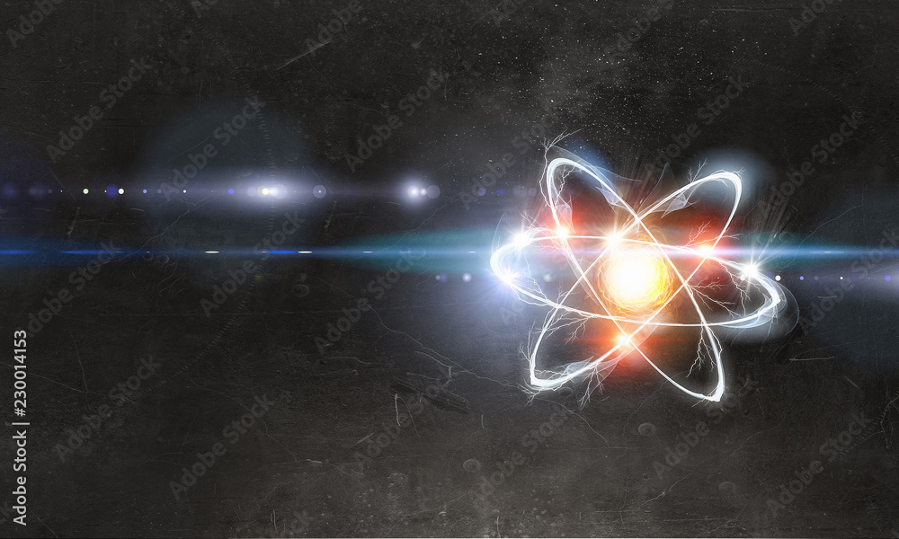 Fototapety, obrazy: Astronomy concept backdrop