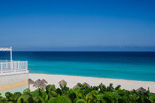 Beautiful Ocean View From The Mirador At Cancun