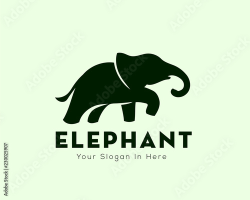 d80abc5fd Elephant logo design inspiration - Buy this stock vector and explore ...