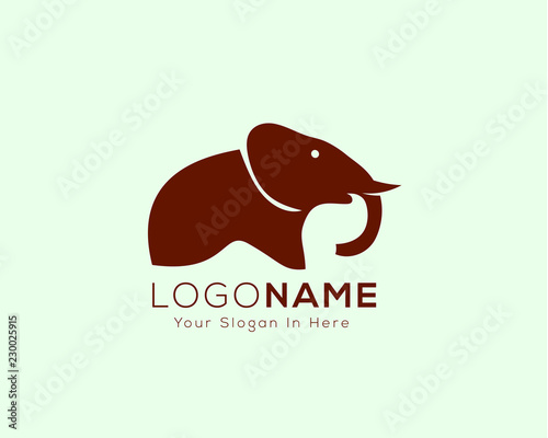 fded51833 Simple elephant icon