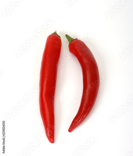 Spoed Foto op Canvas Hot chili peppers Red hot chili peppers closeup