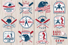 Set Of Baseball Or Softball Cl...