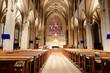 Leinwandbild Motiv Saint Patrick's Old Cathedral oder Old St. Patrick's, Lower Manhattan, Manhattan, New York, USA, Nordamerika