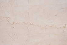 Natural Marble In Yellow Shade With White Vines. Natural Marble Abstract Background.