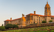 canvas print picture - Union Buildings after sunrise, Pretoria, South Africa