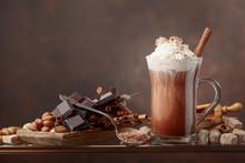 Hot Chocolate With Cream, Cinn...