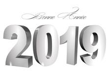 Bonne Année 2019 Belles Lettr...