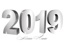 Bannière 2019 Bonne Année Fo...