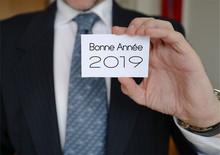 Bonne Année 2019 Carte Homme