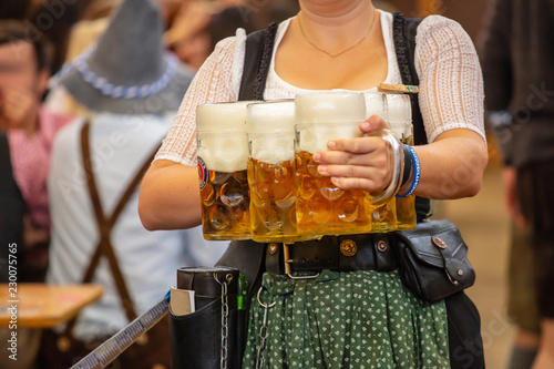 Oktoberfest, Munich, Germany Fototapete