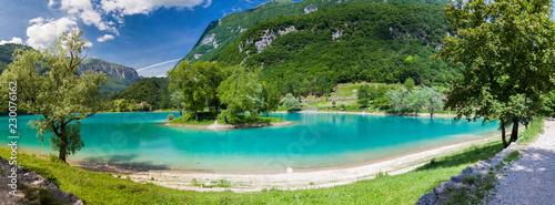 Poster Lac / Etang panoramic view of the lake Tenno
