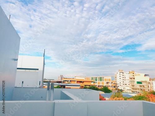Fotografía  台湾の田舎の風景と雲