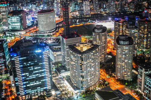 横浜ランドマークタワーから見える夜景28