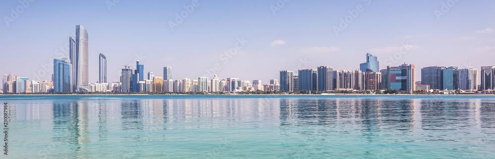 Fototapeta Abu Dhabi Skyline
