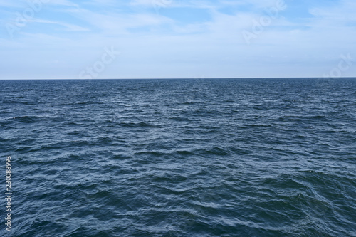 Spoed Foto op Canvas Zee / Oceaan Calm sea and blue sky.