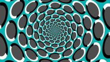 Optische Täuscheun Endlos Tunnel
