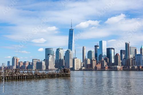 Staande foto New York City Lower Manhattan 2016