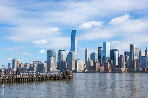 Foto op Aluminium New York City Lower Manhattan 2016