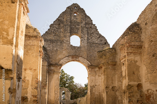 Foto op Canvas Rudnes ruins of ancient monastery