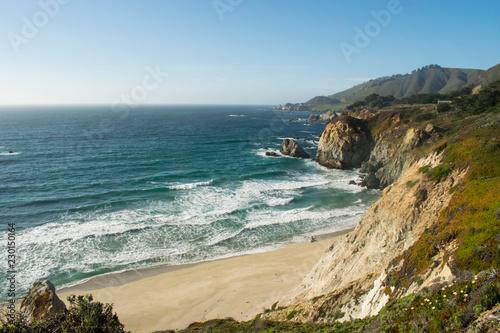 Fotografía  playa y rocas