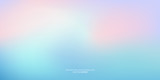 Vector abstract colorful background blurred gradient pastel color palette - 230182766