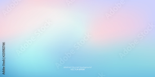 Obraz Vector abstract colorful background blurred gradient pastel color palette - fototapety do salonu