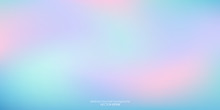 Vector Abstract Colorful Background Blurred Gradient Pastel Color Palette