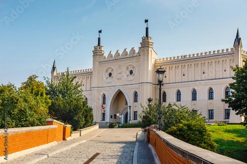 Obraz view of medieval royal castle in Lublin, Poland - fototapety do salonu