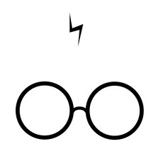 Flat Vector Of Spectacles And ...