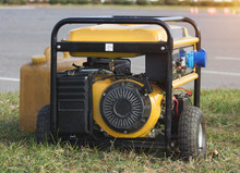 Yellow Petrol Portable Generat...