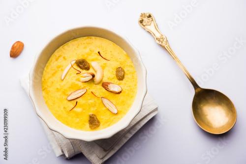 Kaddu or Pumpkin Kheer Or Bhoplyachi Kheer in Marathi and