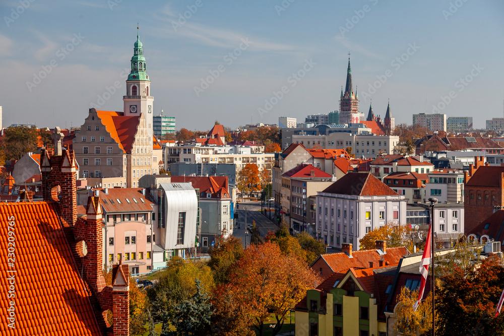 Obraz Centrum miasta - Olsztyn fototapeta, plakat