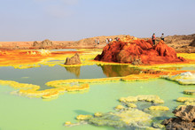 Out-this-planet View To Dallol...