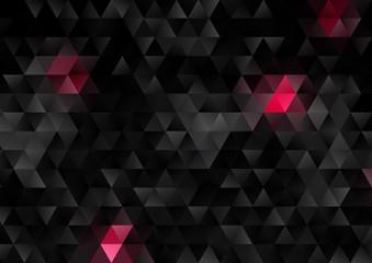Panel Szklany Podświetlane Skandynawski Abstract low poly design