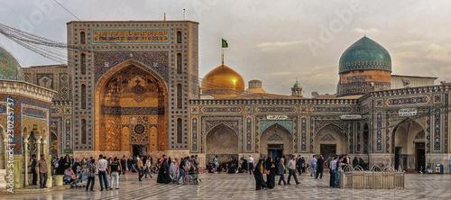 Around the Shrine complex. Haram e Razavi. Mashhad. Iran. Canvas Print
