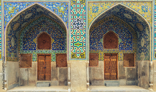 Photo  The Sheih Lotfollah Mosque in Isfahan, built by Shah Abbas I in the early 1600s, is certainly the most exquisite mosque in Iran