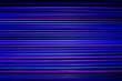 Leinwanddruck Bild - Laser light background, blue colors