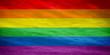 LGBTQ colorful flag