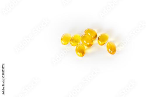 Fotografía  Supplements - Vitamin soft capsules