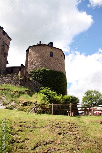 Foto op Aluminium Kasteel Tour du château de Reinhardstein
