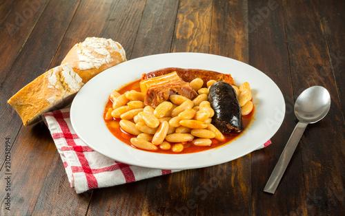 Fabada asturiana casera