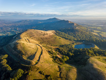 Malvern Hills With The Iron Age Hill Fort In The Foreground