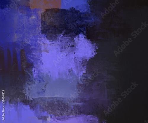 Fototapeta Artistic abstract painting on wall obraz na płótnie