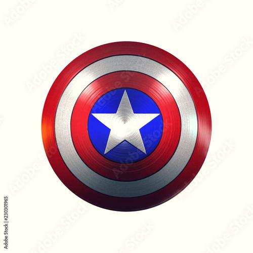 Fotomural Captain America Shield