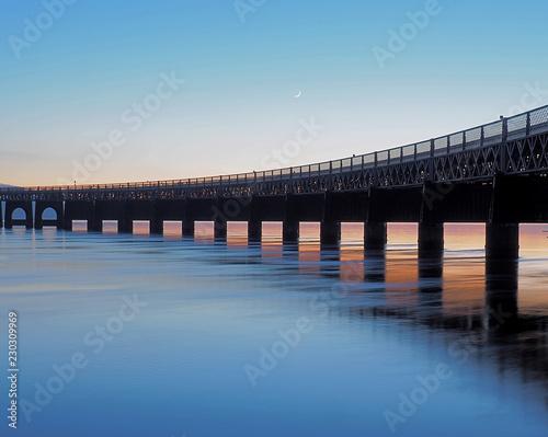 Most na rzece Tay.