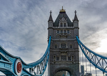 Details Of Tower Bridge On Tha...