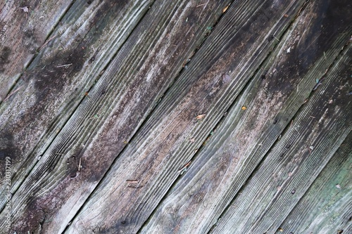 Obraz Rustic aged weathered wood background full frame - fototapety do salonu