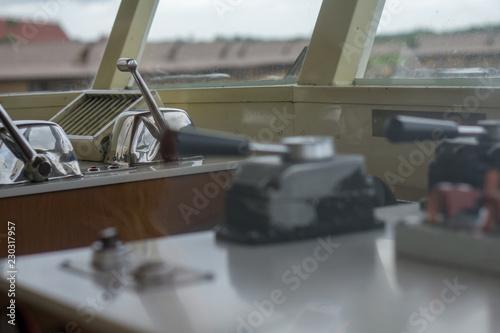 Fotografie, Obraz  Ship Controls Close Up