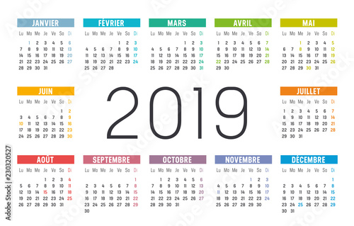 Calendrier Libre Office.Calendrier Agenda 2019 Buy This Stock Vector And Explore