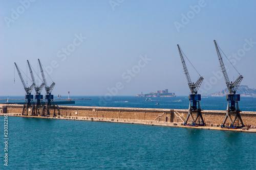 Foto op Plexiglas Poort Port de Marseille - Quai Jean Charcot